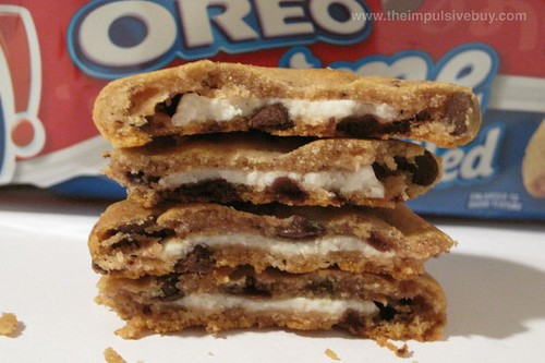 Nabisco Oreo Creme Filled Chewy Chips Ahoy Cookies Pile o' Creme