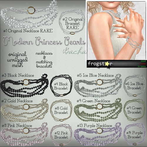 Frogstar - Modern Princess Pearls Gacha Poster