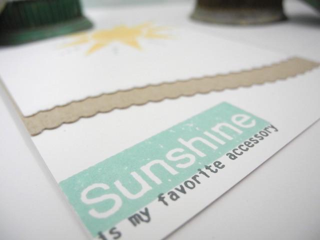 Sunshine (details)