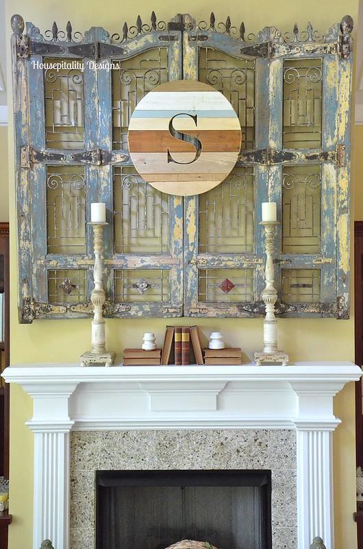 Great Room Mantel-Housepitality Designs