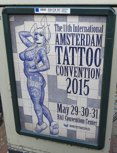 A Delft Blue Tattoo Poster