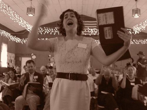 Sacred Harp Singing.