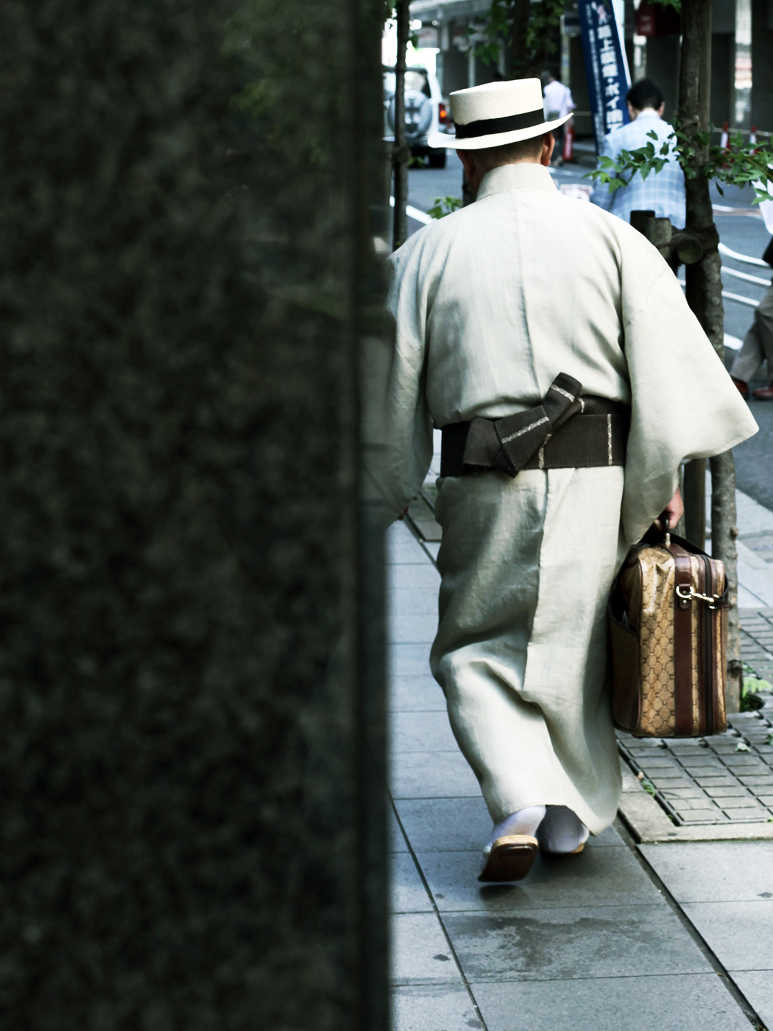 japanese older gentleman