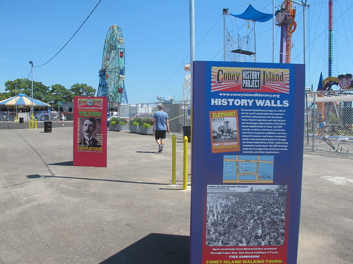 History Walls Coney Island History Project