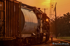BNSF 7306 | EMD SD40-2 | BNSF Thayer South Subdivision