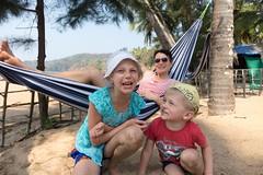 Pełnia szczęścia na plaży w Polem, Goa
