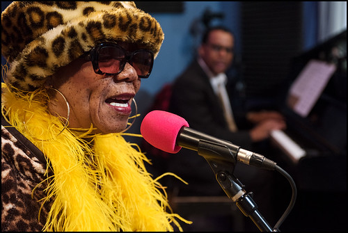 Barbara Shorts & Blue Jazz perform during WWOZ Spring pledge drive day 3 on March 16, 2017. Photo by Ryan Hodgson-Rigsbee www.rhrphoto.com