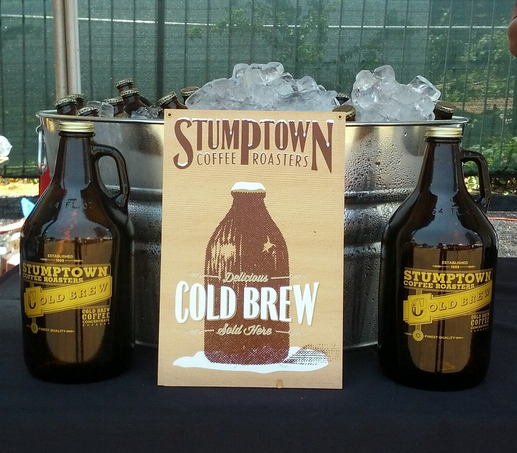stumptown roasters cold pressed iced coffee