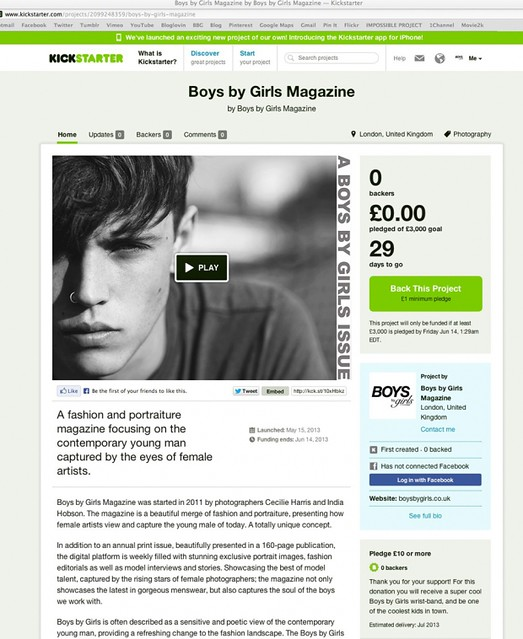 Support Boys by Girls on Kickstarter