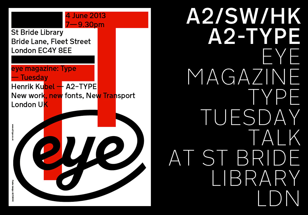 next weeks type tuesday event at st bride library in london features designer henrik kubel talking about his work as a type designer including his