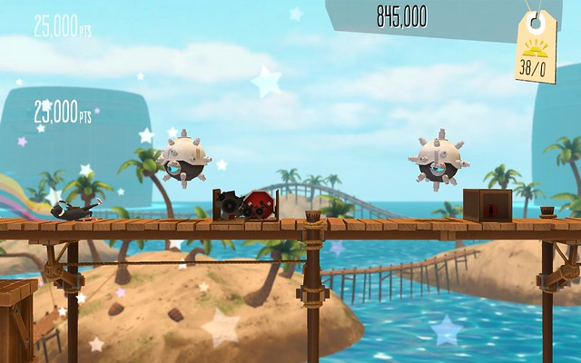 Runner2 on PS Vita