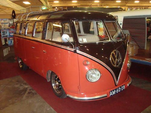 AM-60-28 Volkswagen Transporter Samba 23raams 1957