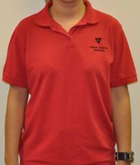 maroon(0.0), pocket(0.0), active shirt(1.0), clothing(1.0), collar(1.0), sleeve(1.0), polo shirt(1.0),
