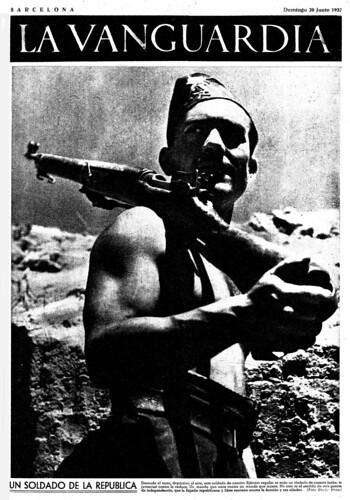 Un soldado de la Repúbica: foto Grafic Press, ¿otro pool de fotógrafos contemporáneos de Agustí Centelles? by Octavi Centelles