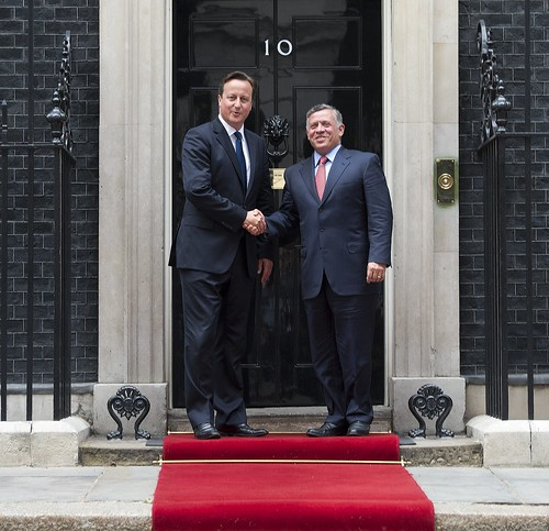 PM and King Abdullah