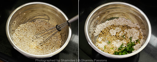 Oats Crackers Recipe - Step1