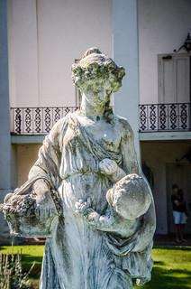 Cokesbury College Statue