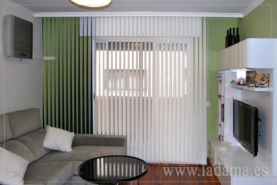 Fotograf as de cortinas venecianas y verticales la dama - Cortinas de screen ...