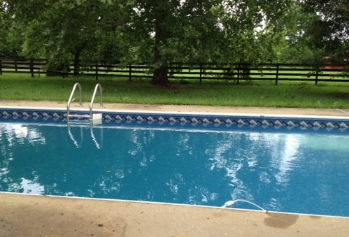 Pool looks a lot better now!