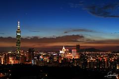 July 17, 2013  Sunset in Taipei