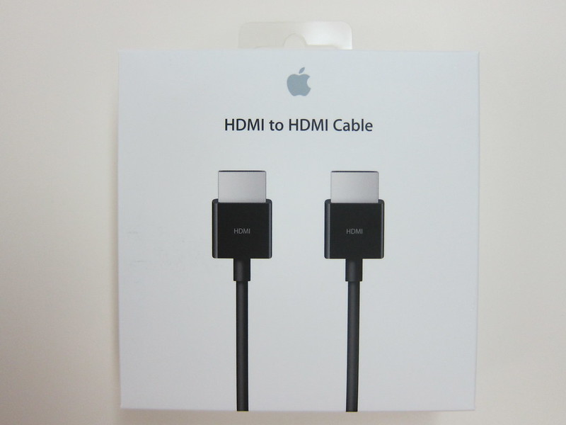 Apple HDMI to HDMI Cable - Box front