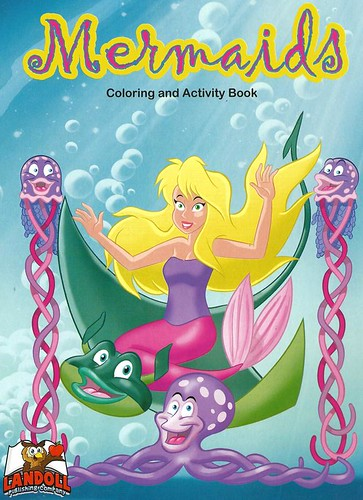 "Landoll Publishing Company :: ""Mermaids"" Coloring & Activity Book (( 2013 ))"