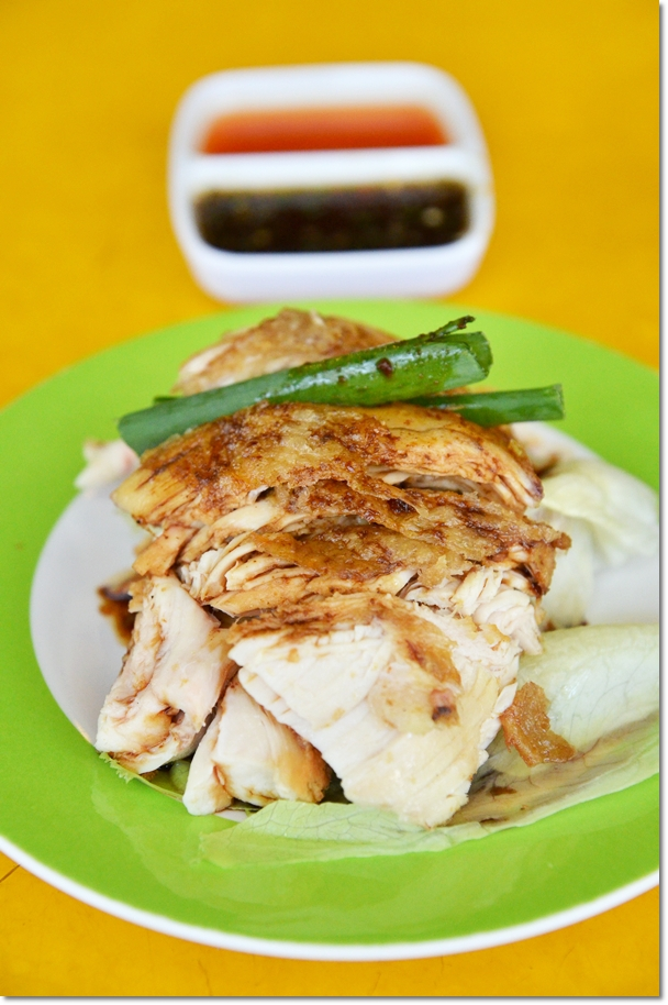 Crispy Skin Roasted Chicken with Chili & Soy Sauce