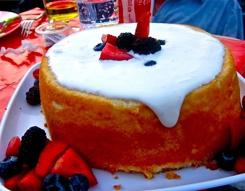 summer berry shortcake