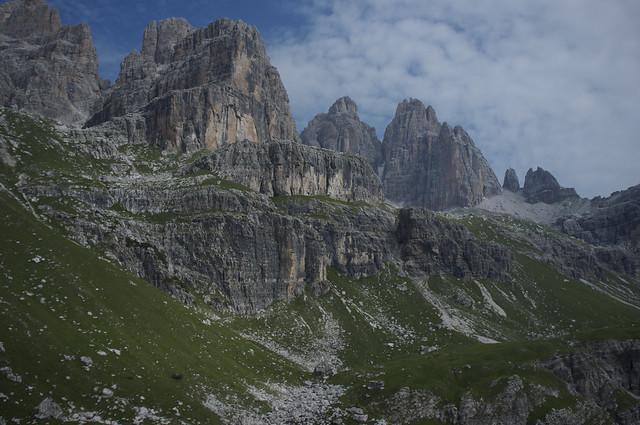 Alta via 1 Dolomites trek