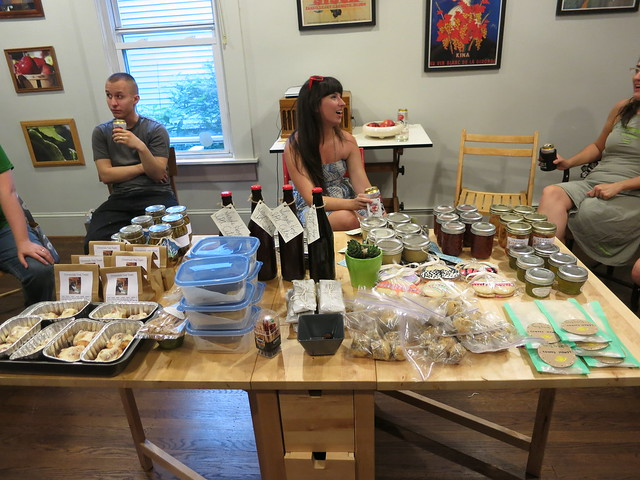 homemade trade club spread