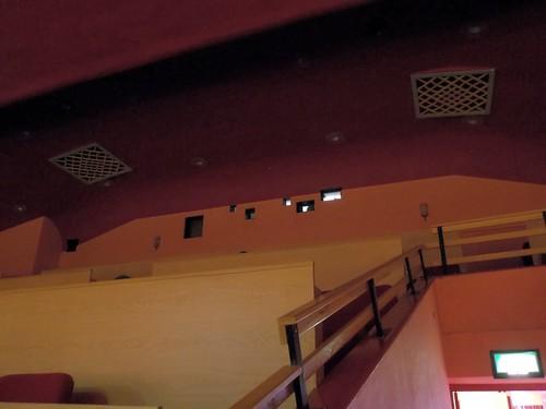 Ritz cinema rushden,projection portholes