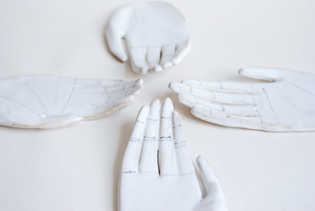 ceramics hands