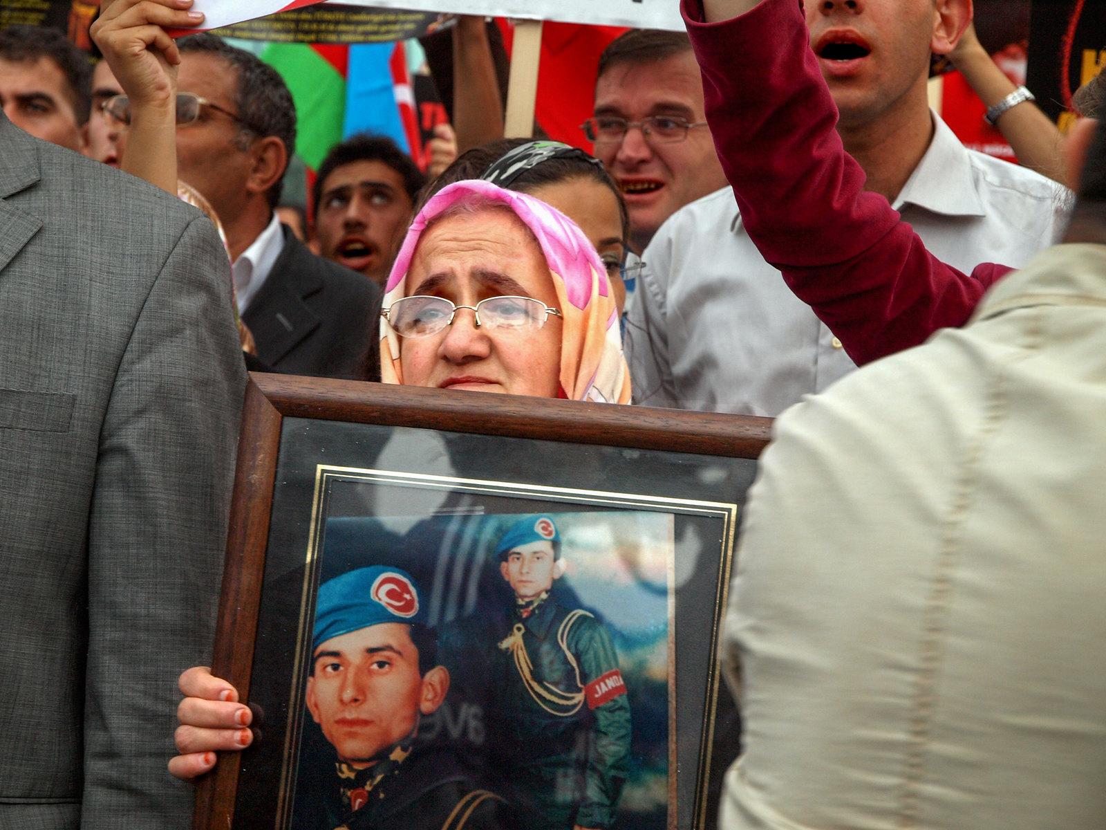Portraits d'Istanbul - les manifestants kurdes
