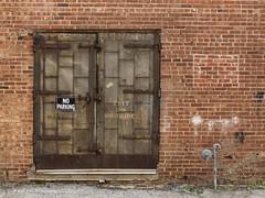 Heavy Steel Door