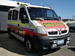 2006 Renault X70 Master ambulance - Ambulance Service Australia