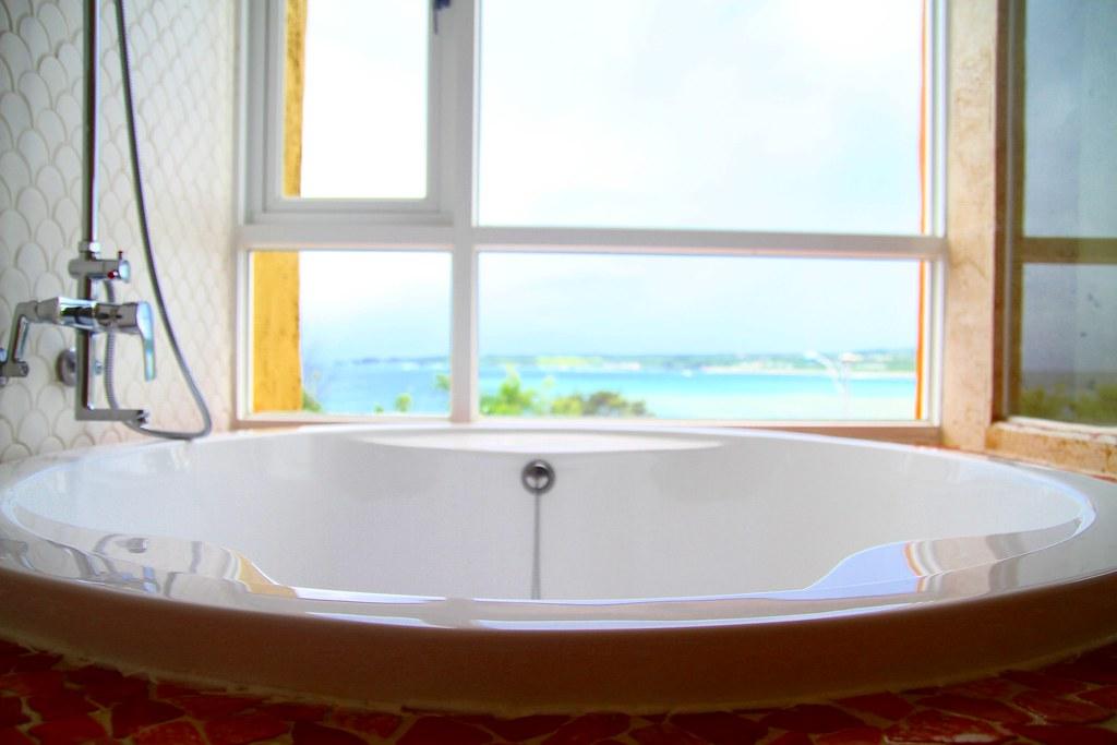浪漫海景雙人房浴缸海景IMG_5857