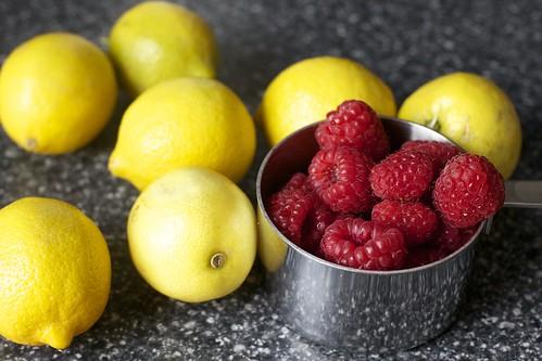 raspberries, lemons, go!