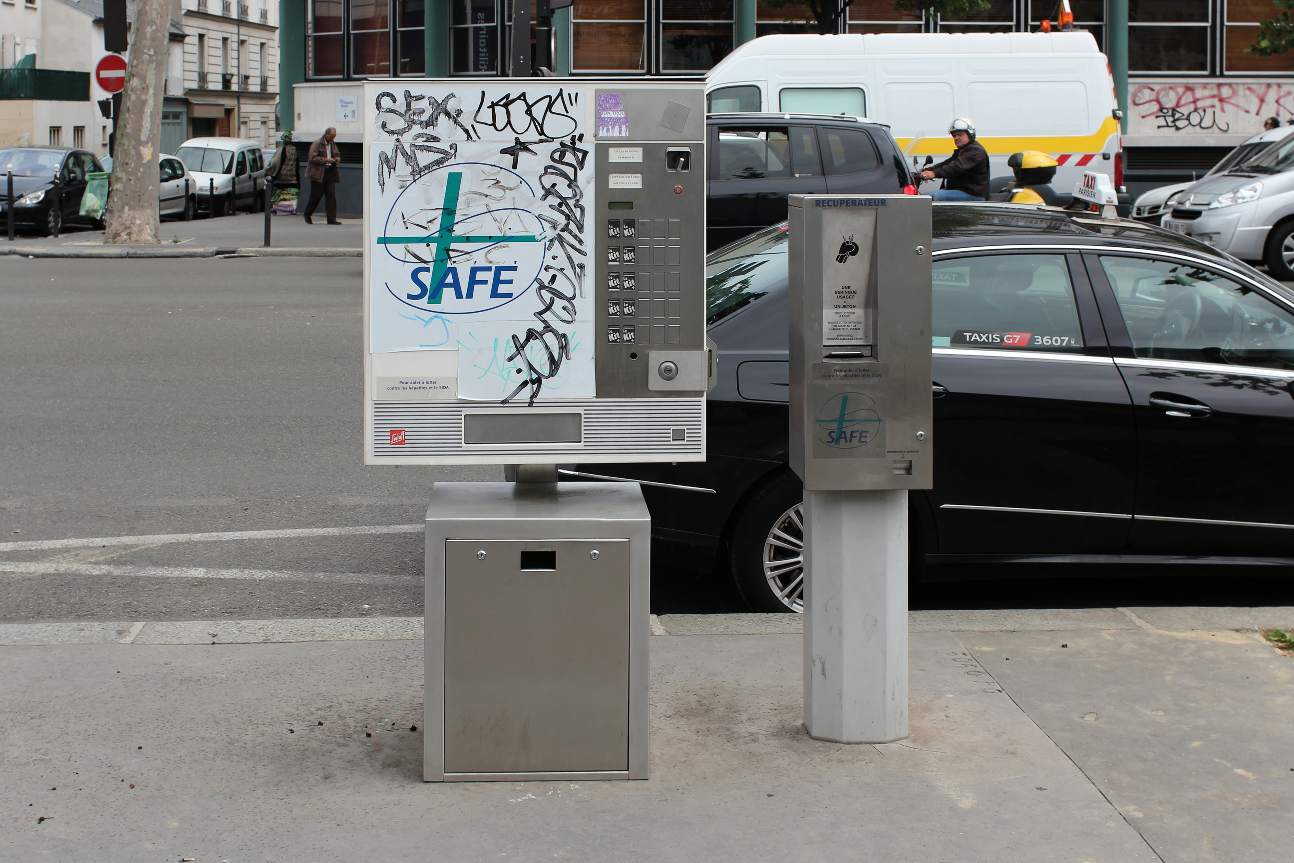 needle exchange machine France