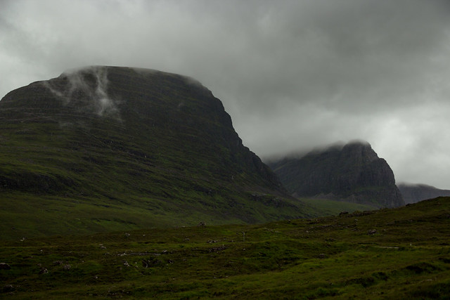 Mountains Draped in Clouds - Scotland