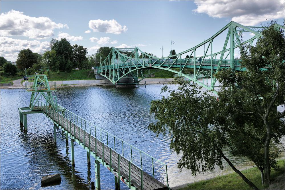 Поворотный мост Оскара Калпака