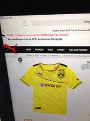 """""""Die gelbe Wand im Rücken"""" - neues(?) Borussia Dortmund (BVB)-Trikot von Puma"""