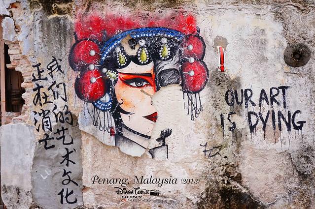20-1. Penang's Art Street