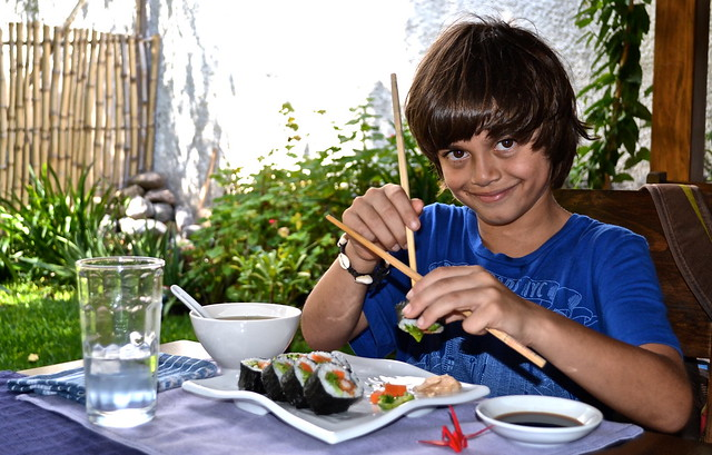 Ebi Furai, Sushi Rolls, Lake Atitlan, Guatemala