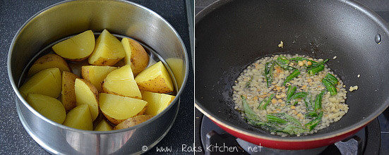 step 1 poori masala recipe