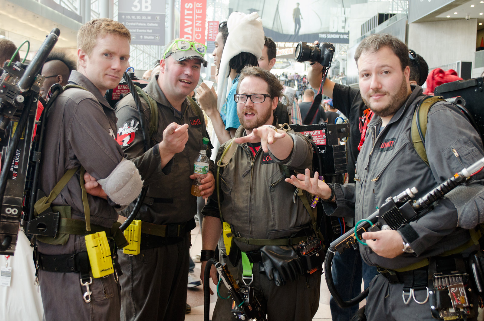 Ghostbusters Cosplay NYCC 2013