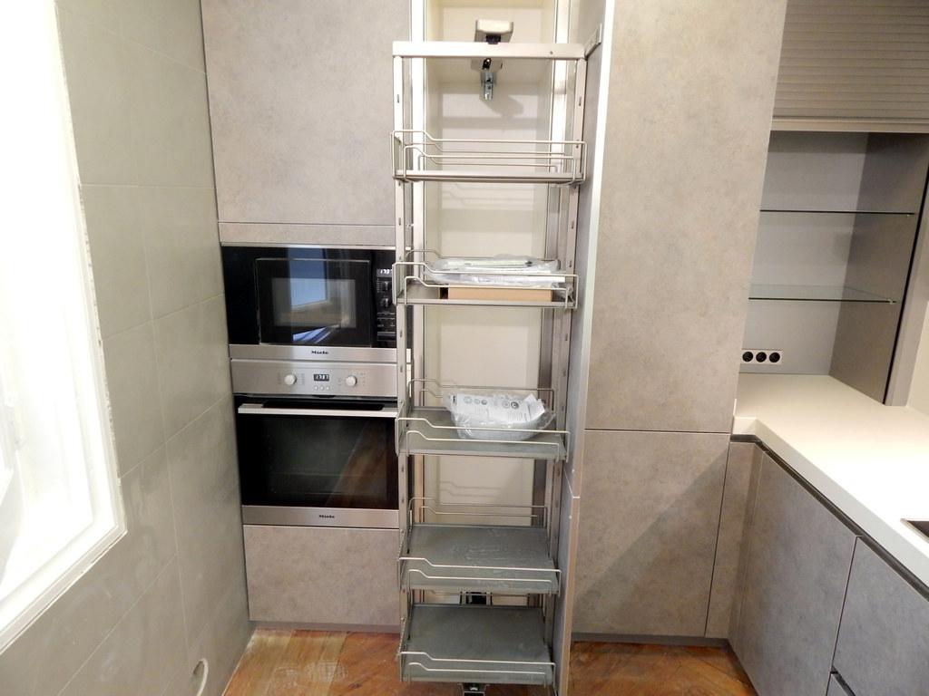 Muebles de cocina modelo 4080 dise o sin tirador - Cocinas sin muebles arriba ...