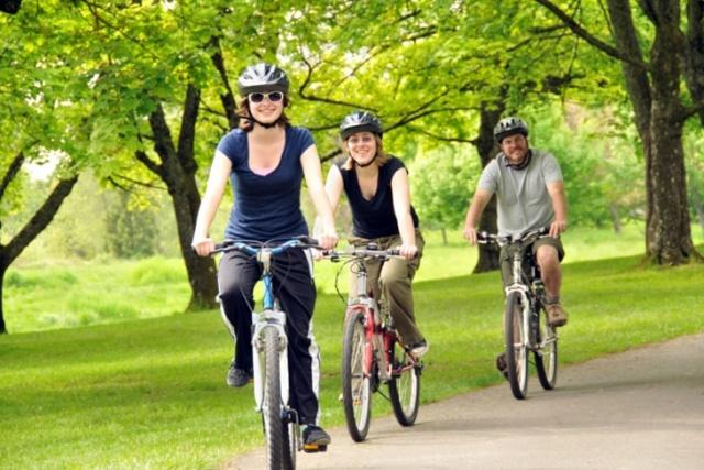 enjoy life, ride bicycles