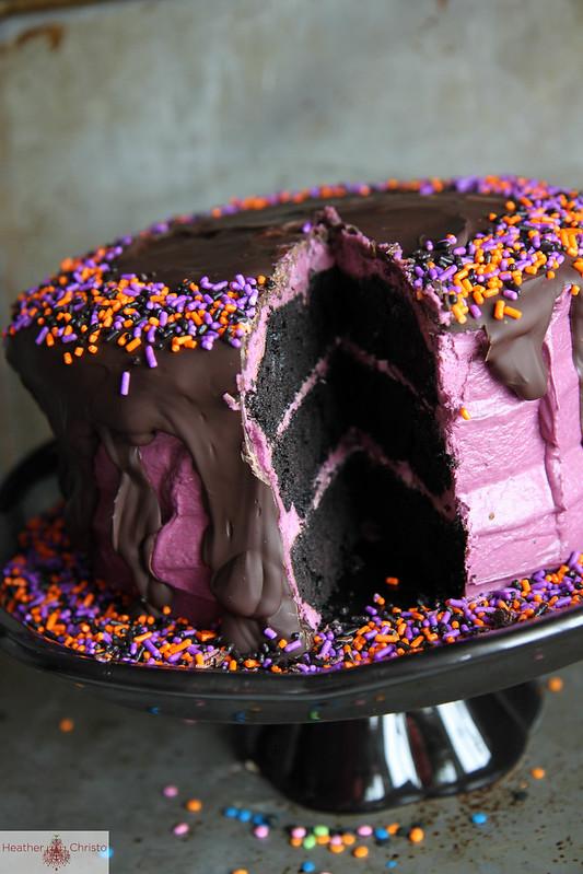 Black Velvet Cake