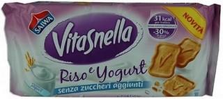 Biscotti Vitasnella Riso e Yogurt Senza Zuccheri Aggiunti