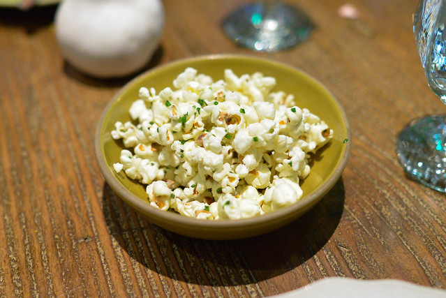Salt and Vinegar Brown Butter Popcorn